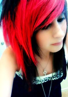 I have been looking for this but with blonde and not so bright red