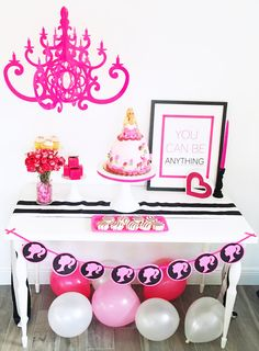 Barbie Party Pink Fancy Chandelier By NK