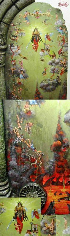 Details of the freehand in my diorama - Bragon (JBT)