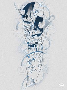 Japanese Tattoo Art, Asian Tattoos, Japan Tattoo, Oriental Tattoo, Kuniyoshi, Arm Tattoo, Tatoos, Tattoo Designs, Mandala