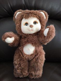 Vintage Mattel 1986 My Child pet bear animal doll by VintageTreasureHaven on Etsy https://www.etsy.com/ca/listing/485363293/vintage-mattel-1986-my-child-pet-bear