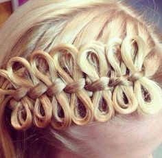 bow braid.. not sure but could be interesting