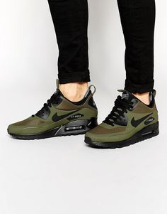 Nike Air Max 90 Winter Mid Trainer 806808-300 https://twitter.com/ecosmcognm/status/903781805576208384