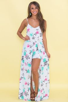 3cbd7eee6f5a Not Afraid To Love Floral Maxi Romper