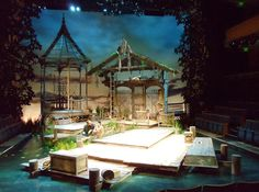 Show: Talley's Folly (2013 Off-Broadway) Scenic Designer: Michael Schweikardt