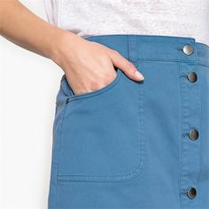 Stretch Cotton Skirt Cotton Skirt, Mini Skirts, Fashion, Moda, Fashion Styles, Mini Skirt, Fashion Illustrations