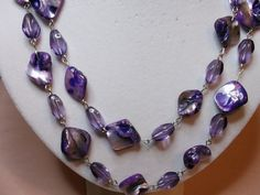 Color Me Purple Necklace at Ruby's Vintage Jewelry