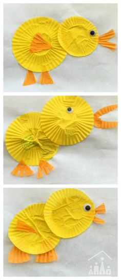 paper plate duck craft | Crafts and Activities for Kids. | Pinterest ...
