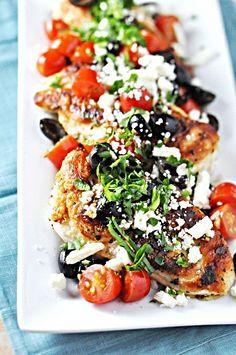 Greek Inspired Chicken Recipe