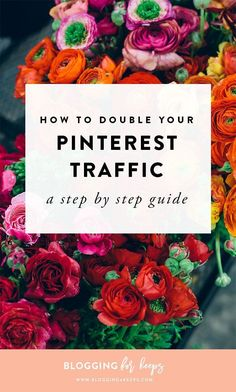 How to double your Pinterest following.  | blogging4keeps.com