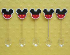 Colherzinhas para Doce - Mickey