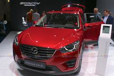 2016 Mazda CX-5 Skyactiv - Want to see more? Follow the link on the photo for Mazda at IAA Frankfurt 2015!