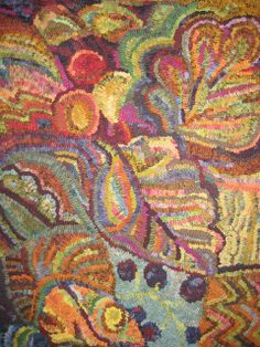 JUST Go Hook It - Rug Hooking: AUTUMN COLOURS
