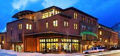 The Limelight Hotel: The Limelight Hotel is a contemporary Aspen ski hotel offering a prime downtown location and year-round activities.