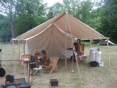 My Tent.....  it's called a wall tent.