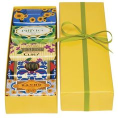 Claus Porto Yellow Box of 5 Bath Soaps Claus Porto http://www.amazon.com/dp/B007L02MYE/ref=cm_sw_r_pi_dp_tIZvvb0CT5HXA