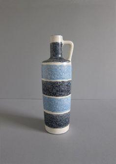 Vintage/ Retro Mid-Century Strehla Keramik Germany Vase. on Etsy, $51.83