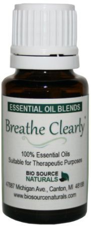 Breathe Clearly Essential Oil Blend Aromatherapy - 1 fl. oz. (30 ml) Bottle