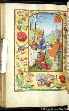 Book of Hours, MS M.390 fol. 57v - Images from Medieval and Renaissance Manuscripts - The Morgan Library & Museum