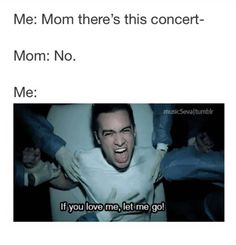 This is me with my mom right now. I even told her I would pay! I NEED to go to P!ATD's concert...