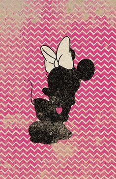 Campanita Minnie Bambi Cheshire siluetas en el por WITHHEARTSTUDIOS