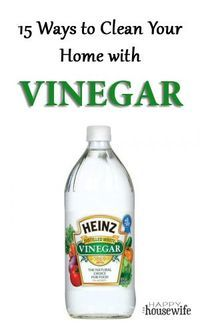 15 Ways to Use Vinegar to Clean Your Home. Vinegar is a great natural cleaner that is also inexpensive. Save money and the environment when you use eco-friendly products like vinegar. It's probably already sitting in your pantry!