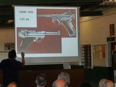 II EXPOCAMPEONATODE PISTOLA hISTÓRICO-MILITAR Conferencia Antonio Álvarez Castellano sobre la pistola Luger
