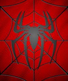Spiderman Stencil, Spiderman Tattoo, Hero Spiderman, Black Spiderman, Spiderman Spider, Amazing Spiderman, Marvel Mug, Square Drawing, Superhero Symbols