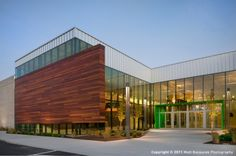 Heartland Community Church, done by 360 Architecture. A big box store transformed into a modern church.
