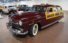 1948 Hudson Commodore Eight woodie wagon