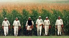 "Play Baseball on the ""Field of Dreams"" in Dyersville - Travel Iowa Movie Sequels, Sad Movies, Film Movie, Baseball Movies, Better Baseball, Famous Movie Quotes, Great Films, Baseball Field, Baseball Players"
