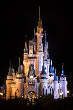 Disney Photograph - Cinderella's Castle In Magic Kingdom by Adam Romanowicz Walt Disney World Orlando, Disney World Resorts, Disney Parks, Disney Pixar, Magic Kingdom, Disney Fine Art, Sleeping Beauty Castle, Cinderella Castle, Disney Artwork