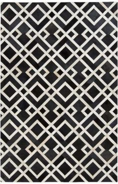 Surya Trail Hand Loomed Hair On Hide Rug 2 x 3 Rectangle Home Decor Rugs Rugs Geometric Patterns, Floor Patterns, Pretty Patterns, Graphic Patterns, Geometric Designs, Textures Patterns, Fabric Patterns, Geometric Shapes, Design Patterns