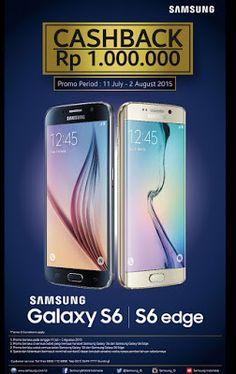 promo hp samsung galaxy s6 dan galaxy s6 edge cashback 1 juta