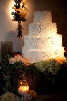 Buttercream Icing Wedding Cake
