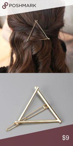 Gold triangle for hair Gold triangle for hair Accessories Hair Accessories