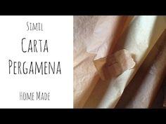 Come fare la SIMIL  CARTA PAGLIA (Riciclo e FAi da Te) Arte per Te - YouTube