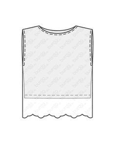 burda style, Näh-Anleitung, Spitzentop - Zwei-Teile-Optik 05/2013 #130, Zwei Shirts – ein kurzes aus Jersey, ein längeres aus Tüllspitze – sind am U-Boot-Ausschnitt zusammengesteppt Du brauchst: Baumwolljersey, geblümt, 145 cm breit: 0,60 m für alle Größen. Tüllspitzenstoff mit beidseitiger Bogenkante, 112 cm breit: 1,50 m. Math, Shirts, Sewing Patterns, Tutorials, Math Resources, Dress Shirts, Shirt, Mathematics