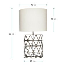 Shilling Lamp | Wire Table Lamp | Loaf