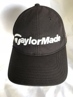 Taylor Made SLDR Tour Preferred Golf Hat Cap Black One Size Adjustable  Strapback  fashion   fa4762be07