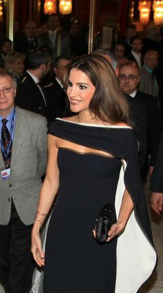 ♔♛Queen Rania of Jor