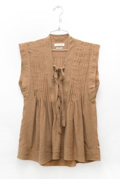 Isabel Marant Kenny Top in Ficelle   DIANI Boutique