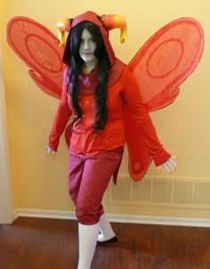 former cartoonist, died in an awful tiger tragedy - God Tier Aradia Wing Tutorial
