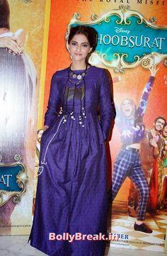 Sonam Kapoor Sonam Kapoor in Blue Dress - Khoobsurat Movie Actress  -  Khoobsurat Movie Actress  Sonam Kapoor & Pakistani actor Fawad Khan Promote 'Khoobsurat'  , #fawadkhan #sonamkapoor #sonamkapoor #promotions #khoobsuratmovie #bollybreak #bollywood #india #indian #mumbai #fashion #style #bollywoodfashion #bollywoodmakeup #bollywoodstyle #bollywoodactress #bollywoodhair