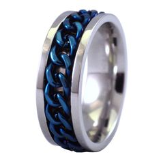 Good Impressive Black And Gold Gear Spinner Ring For Men Stainless Steel Wedding Band Reliever Worry Nervous Male Jewelry We Take Customers As Our Gods Rings
