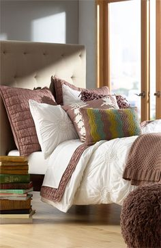 Nordstrom at Home 'Chloe' Duvet Cover   Nordstrom. I love the color combo and the duvet cover