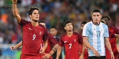 Portugal faz 2 a 0 na Argentina no Estádio Olímpico
