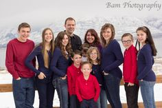 My adorable and weird family (:  Taken by bam photography