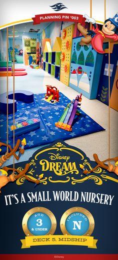 Disney Cruise Line Planning Pins | Disney Dream: It's A Small World Nursery