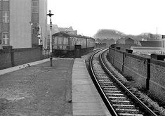 Old Train Station, Disused Stations, Nottingham, High Level, Old Photos, Railroad Tracks, Victoria, London, Trains